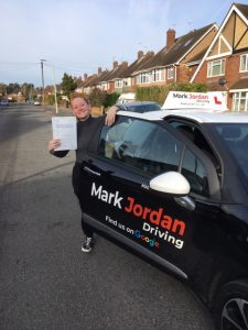 Driving Lessons in Loughborough. Parise passes 1st time.