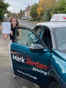 Driving instructors in swadlincote, Lucy passed first time