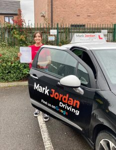 driving instructors in Ashby - Lorena Passed first time 14.00.45
